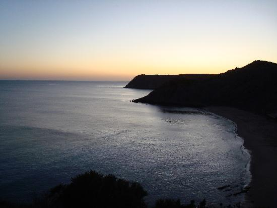 Hotel Praia do Burgau: View from my hotel room patio