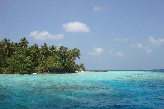 Biyadhoo Island Resort: Approaching Biyadhoo