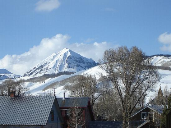 Inn at Crested Butte: View from the Hot Tub
