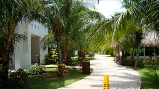 El Dorado Sensimar Riviera Maya: beautiful grounds