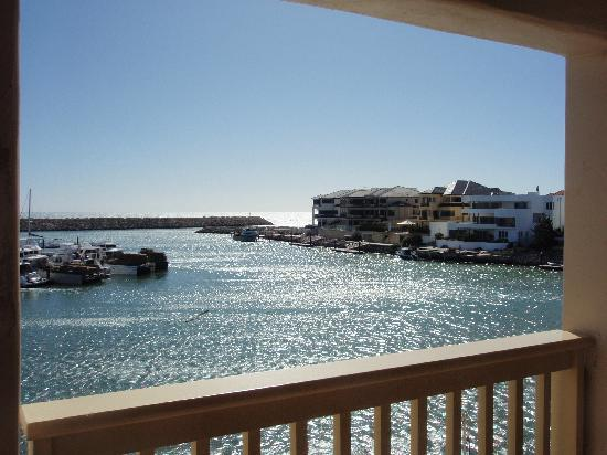 The Marina Hotel: View from the balcony 2
