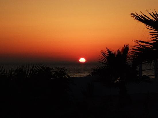 Kamari Bay Hotel: sunset at Kos