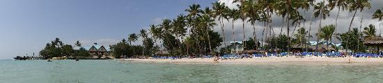 Dreams La Romana Resort & Spa: vista panorámica playa