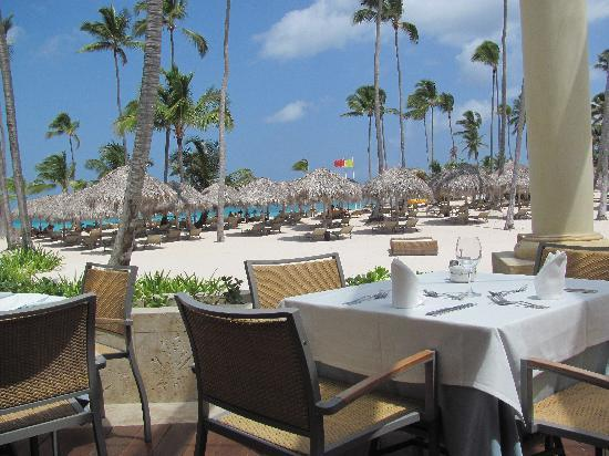 Iberostar Grand Bavaro: View from lunch buffet
