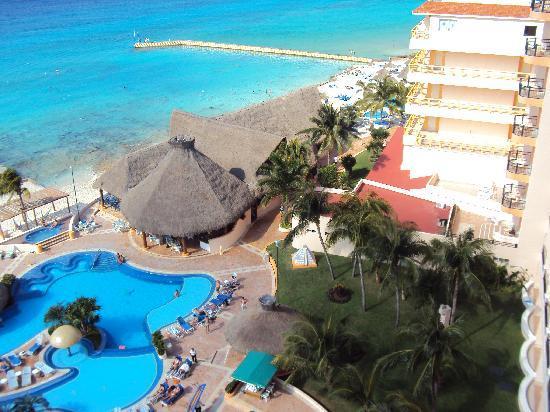 El Cozumeleno Beach Resort: View from room 1912