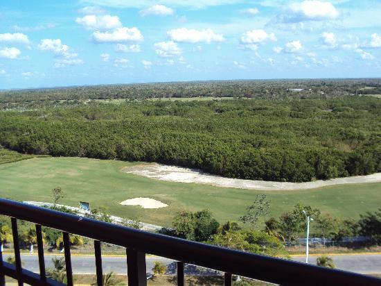 El Cozumeleno Beach Resort: Golf course across street
