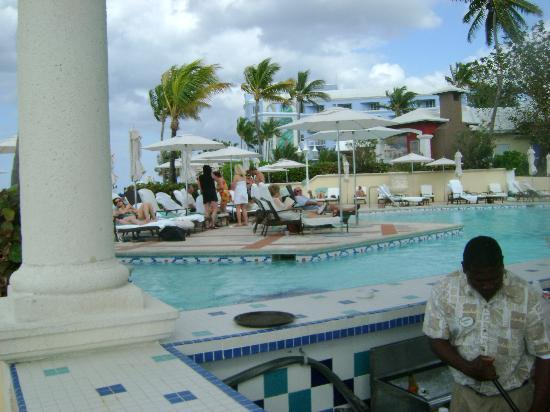 Sandals Royal Bahamian Spa Resort & Offshore Island: one pool area and bar