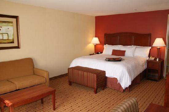 Hampton Inn and Suites Arcata, CA: King Study with Sofabed