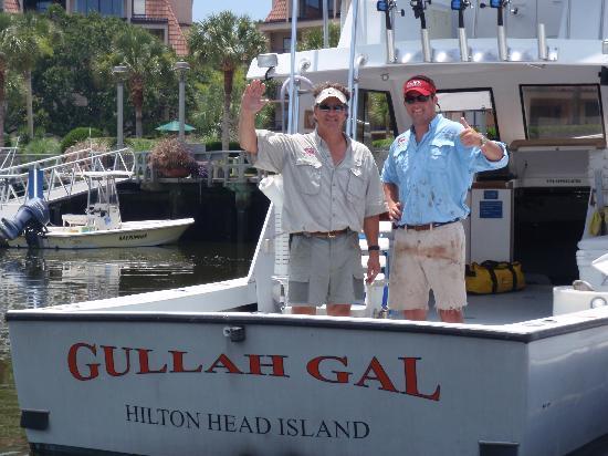Sport Fishing Gullah Gal: Capt. Jeff & First Mate JR