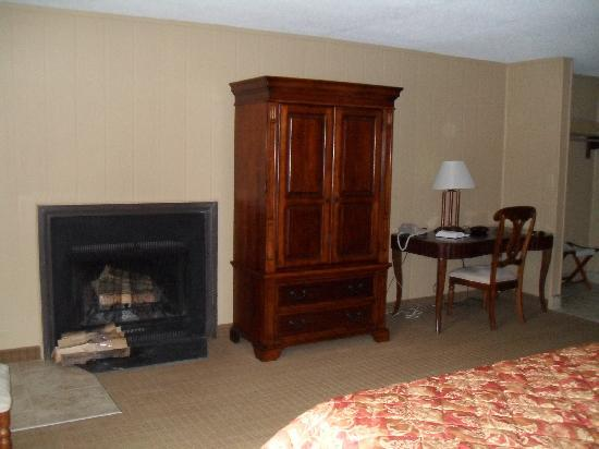 Fontana Village Resort: Fireplace/Garden room
