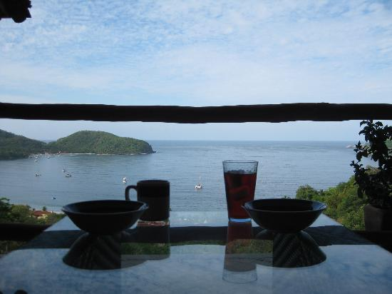 Casa Romantica: breakfast on the terrace