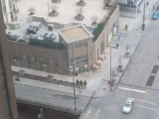 Hyatt Regency Chicago: View from the room 23rd floor