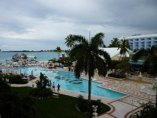 Sandals Royal Bahamian Spa Resort & Offshore Island: View from our Room 1307, Windsor Building