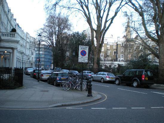 The Nadler Kensington: right by hotel