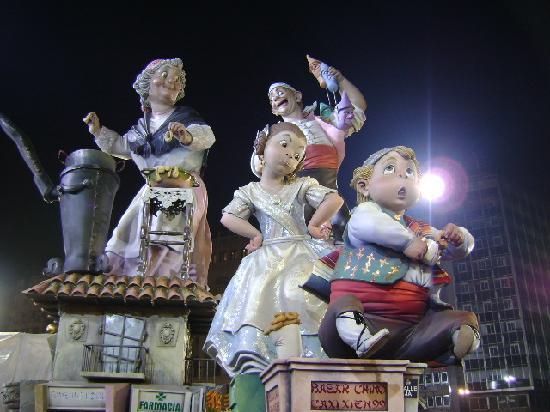 Valencia en Fallas, 2010