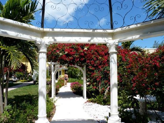 Sandals Royal Bahamian Spa Resort & Offshore Island: The Royal Village garden & gazebo