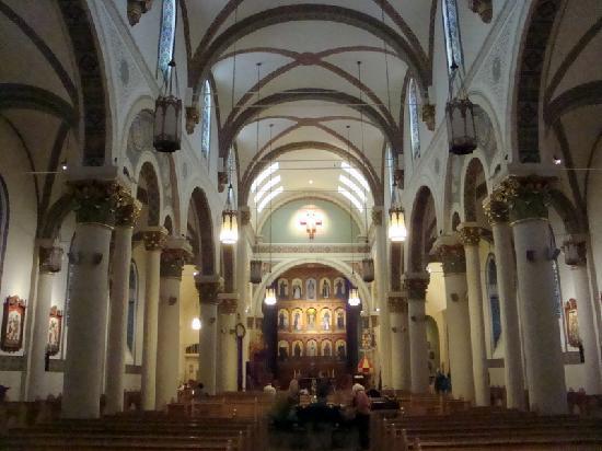 Santa Fe, NM: Cathedral Basilica of Saint Francis of Assisi