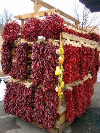 Santa Fe, NM: chilis