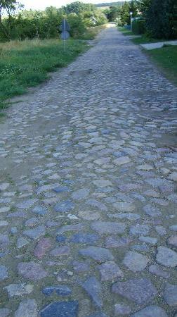 Landhotel Felchow: Stone road, Felchow