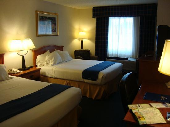 Holiday Inn Express Santa Fe - Cerrillos: our nonsmoking room