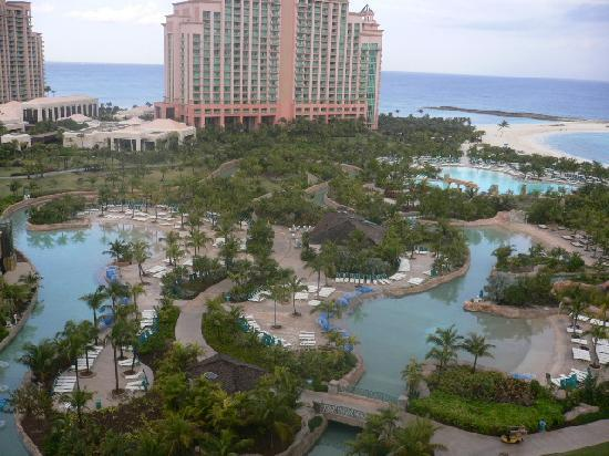 The Royal at Atlantis, Autograph Collection: One angle of the view from our room.