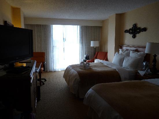 San Antonio Marriott Riverwalk: View of room