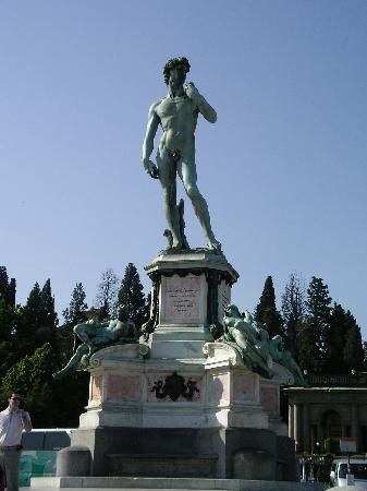Piazzale Michelangelo: ミケランジェロ広場のダヴィデ像
