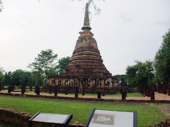 Wat Chang Lom: ワット・チャーン・ローム遺跡2