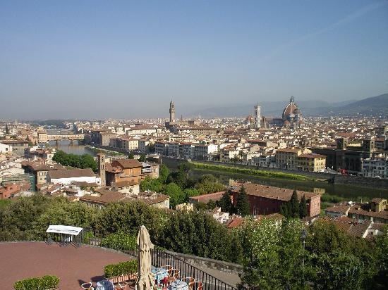 Piazzale Michelangelo: ミケランジェロ広場からの眺め