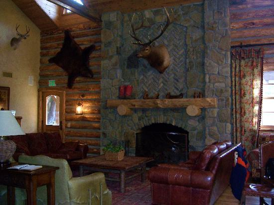 Circle Bar B Guest Ranch: Main Lodge