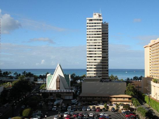 Hilton Waikiki Beach: View from our Room