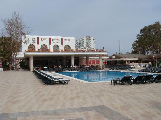 Club Hotel Sera: Main outdoor pool and bar/restaurant area