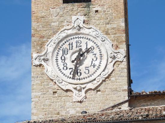 Cingoli MC Italia - Orologio Torre Civica