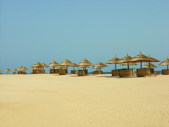 Siva Port Ghalib : La plage