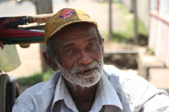Negombo, Sri Lanka: Noch ein Bettler, gleicher Ort