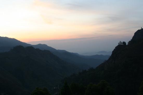 Negombo, Sri Lanka: Blick aus dem Hotelzimmer in Elle