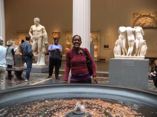 Metropolisk kunstmuseum: Me and the wishing pond