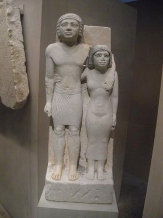 Metropolisk kunstmuseum: Egyptian Pharaoh Sen & wife