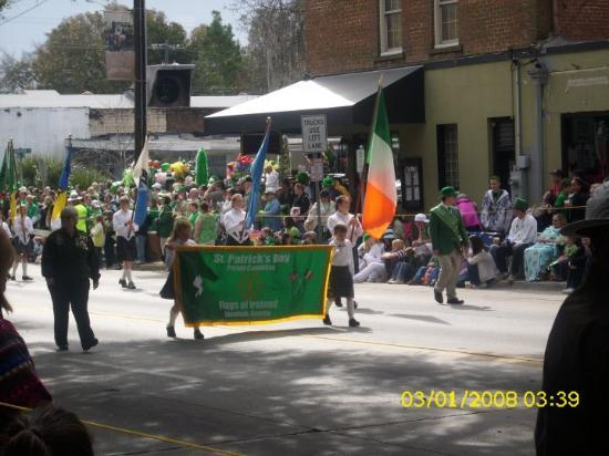 Savannah, GA St. Patricks Day Parade