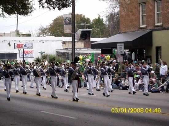 Savannah, GA: The best bands were the ones affiliated with the US military....excellent presentation and music