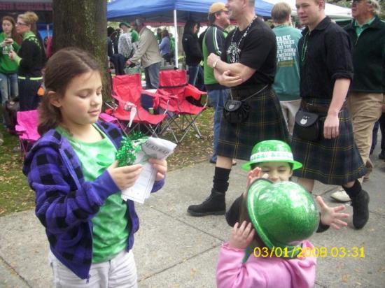 Savannah, GA St. Patricks Day Parade