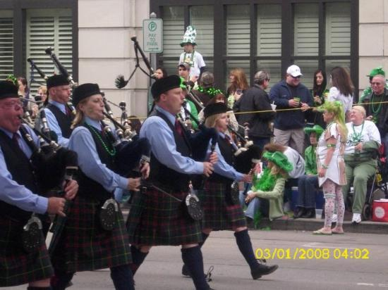 Savannah, GA: more bag pipes...they sounded very nice though