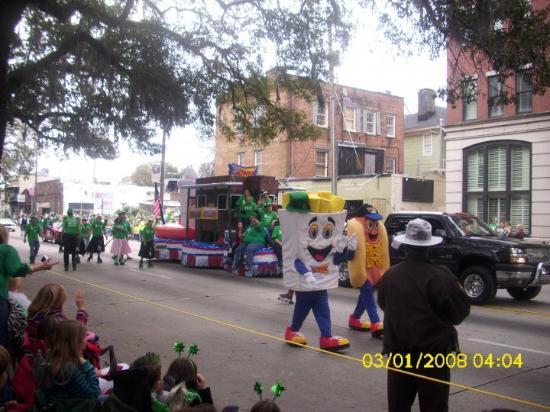 "Savannah, GA: Eden's favorite....she yellled ""Fench fies mama....LOOK fench fies"" (The Sonic Float)"