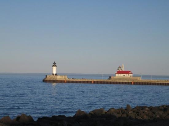 Lakewalk: This is our picture postcard vacation in Duluth, MN over Memorial weekend.