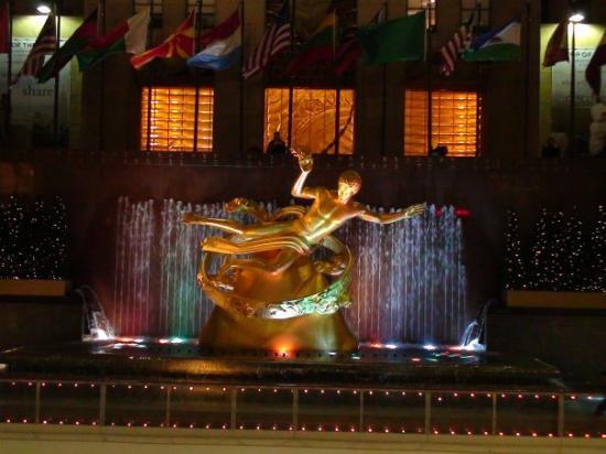 Radio City Music Hall: New York, État de New York, États-Unis