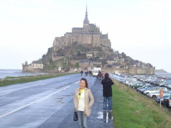 Mont-Saint-Michel, Frankrike: Mont Saint Michel Normandy, France- Jan. 2007