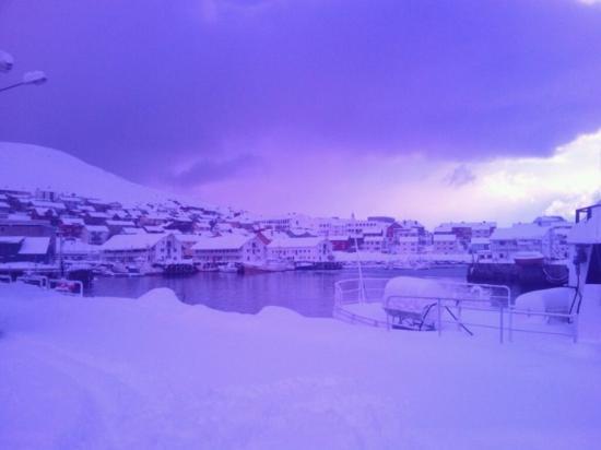 A Honningsvag, de cami a Nordkapp