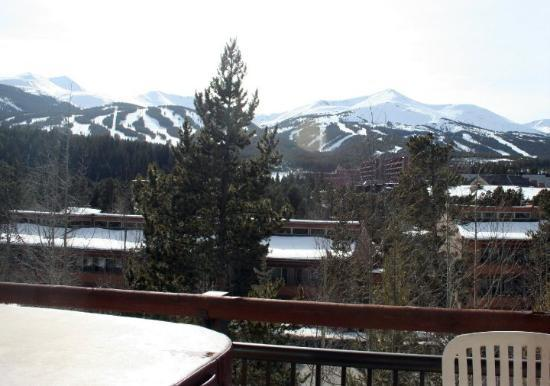 Breckenridge, CO: view from the condo