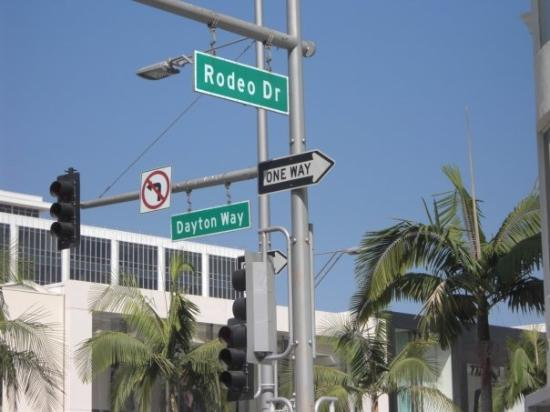 Beverly Hills, Californië: rodeo dr
