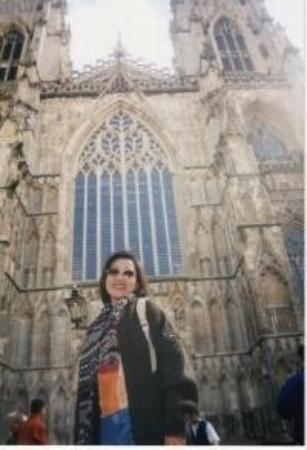 York Minster Cathedral, England- Aug 2001